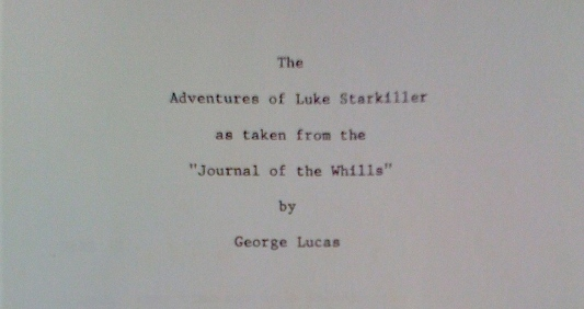 The Development Of Star Wars As Seen Through The Scripts By George Lucas Starkiller